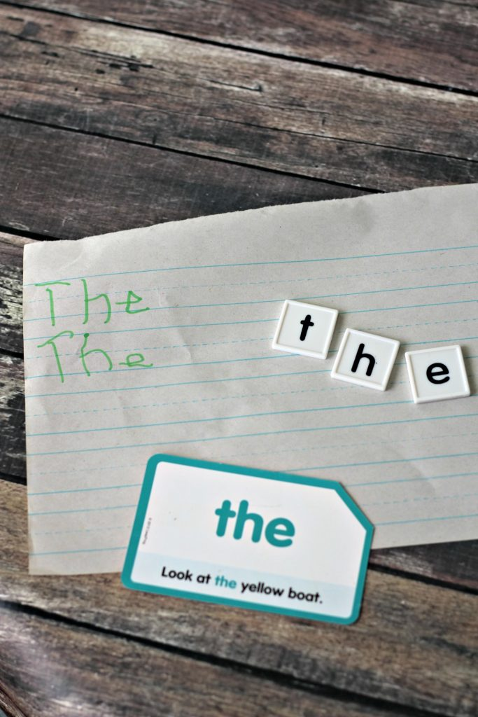 Practicing sight words | learning to read sight words